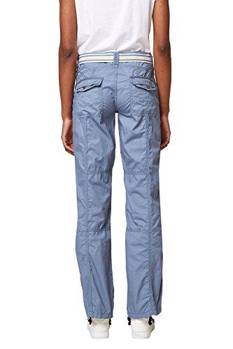 edc by Esprit, Pantaloni Donna Blu (Grey Blue 420)