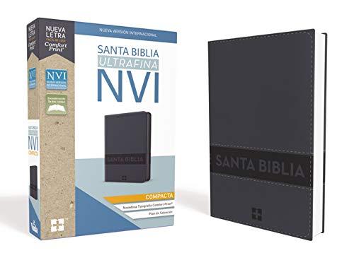 Santa Biblia Nvi, Ultrafina Compacta, Aqua C/Cierre