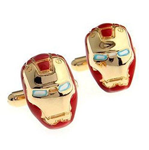 Revenne Jewelry Iron Man Manschettenknöpfe R158