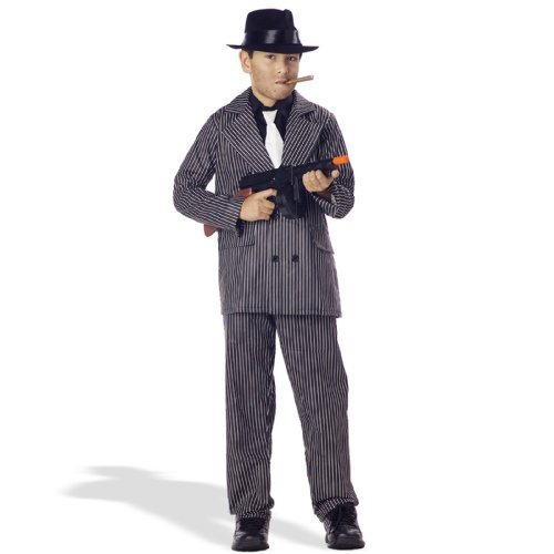 Gangster Mob Boss Child Costume by California (Kostüme Boss Mob)
