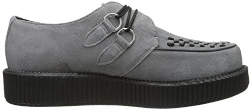 T.U.K. Low Sole Round Creeper, Baskets Mode Mixte Adulte Gris (Grey)