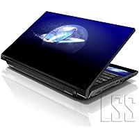 "'LSS 1010.2pulgadas Laptop Notebook Skin Carcasa adhesivo Decal apta para 7""8"" 8.9""10"" 10.2HP Dell Apple Lenovo Asus Acer Compaq (2pegatinas menos muñecas Incluye gartuitamente) Butterfly"