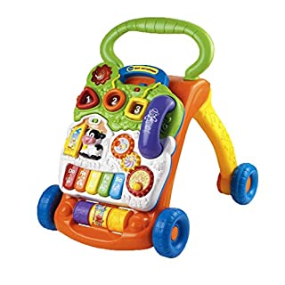 VTech Baby 80-077064 - Spiel und Laufwagen, Normalverpackung, Bunt-Grün/Orange (B0085IYM9Y) | Amazon price tracker / tracking, Amazon price history charts, Amazon price watches, Amazon price drop alerts