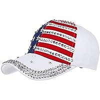 zkkpainting Gorra de Beisbol Sombrero Sombreros para Mujer Sombrero Rivet Light Board Gorra de béisbol de Color sólido Gorra de Hombre Sombrero para Sol al Aire Libre