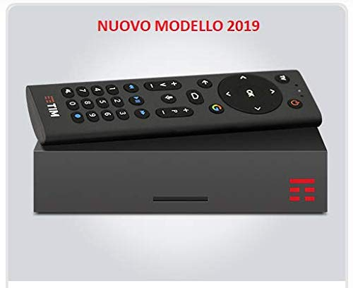 NUOVO TIM BOX DECODER RICEVITORE DIGITALE TERRESTRE DVB-T2 TIM VISION ANDROID HDMI 4K 2GB 32GB