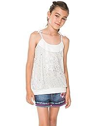 Desigual - Camiseta de tirantes - para niña