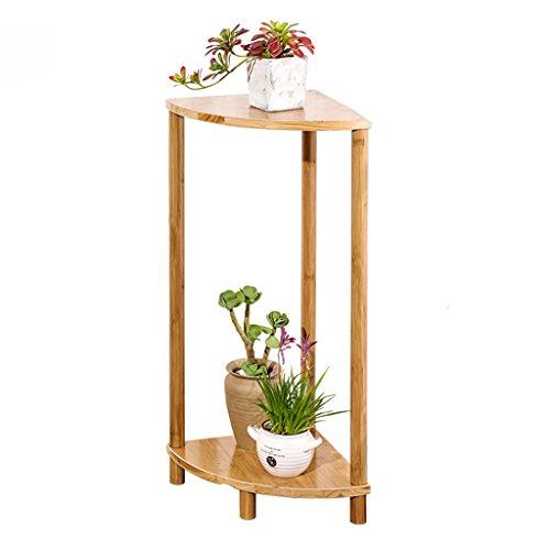 Ventilateur en forme de fleur - Balcon en forme de fleur Multi-étages Salon Pots à fleurs Bambou simple en bambou (taille : 30*70cm)