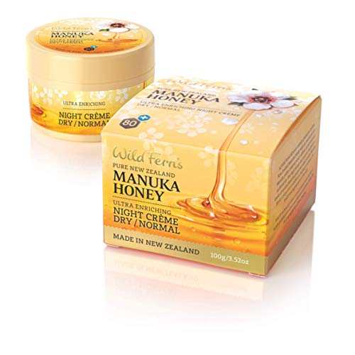 Wild Ferns Manuka Honey Night Cream Dry to Normal Skin by Wild Ferns
