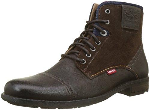 Levi's Herren Fowler Biker Boots, Braun (Dark Brown 29), 45 EU -