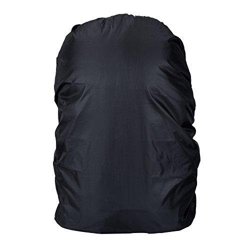 Imagen de outus 3 piezas cubierta de lluvia de  funda impermeable de bolsa set con 3 tamaños 30 40 l, 55 65 l y 75 85 l para senderismo, acampada, escalada, ciclismo alternativa