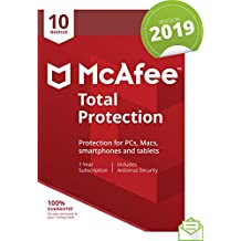 McAfee 2019 Total Protection, 10 Devices, PC/Mac/Android/Smartphones [Download]