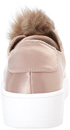 Steve Madden Breeze, Sneakers Femme Beige (Taupe Satin)