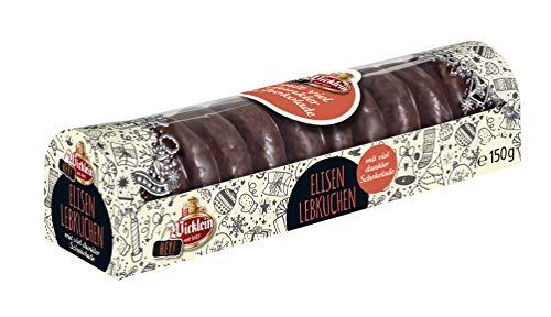 """Wicklein """"Hey"""" Mini Elisen-Lebkuchen mit viel dunkler Schokolade, 6er-Pack (6x150g)"""
