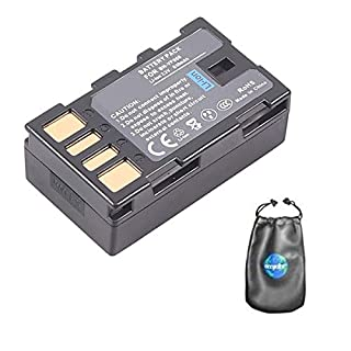 amsahr BT-CNBNVF908-1CT Digital Replacement Camera and Camcorder Battery for Canon BN-VF908, JVC BN-VF908, BN-VF808 - Grey