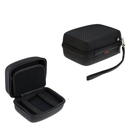 Navitech schwarz Reise / Aufbewahrungsbox für die Urbanista Melbourne Portable Bluetooth speaker -