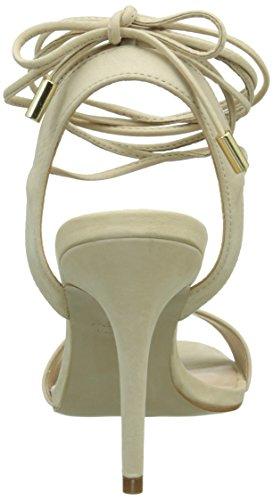 Aldo Marilyn, Scarpe Col Tacco con Cinturino a T Donna Beige (Beige (Bone Nabuck / 33))