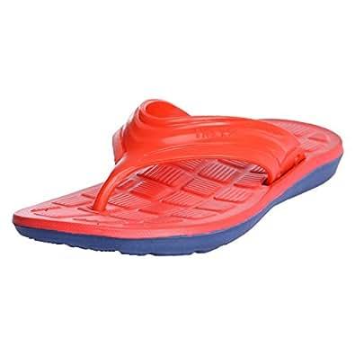 Lite Ok Unisex Red Pu Slippers (9 UK)