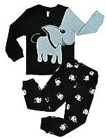 Tkria Boys Pyjamas Sleepwear Set Elephant Nightwear Robes Pjs Clothing Set Age 2 3 4 5 6 7