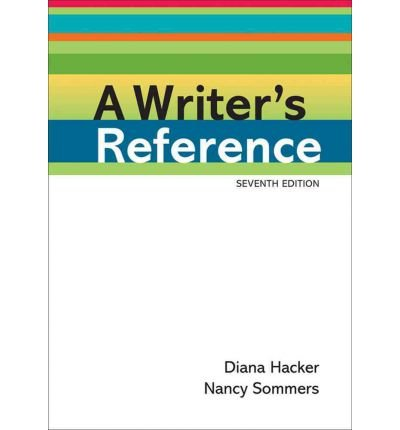 (Writer's Reference, 7th Edition & Compclass (Bundle)) By Hacker, Diana (Author) paperback on (06 , 2011) par Diana Hacker