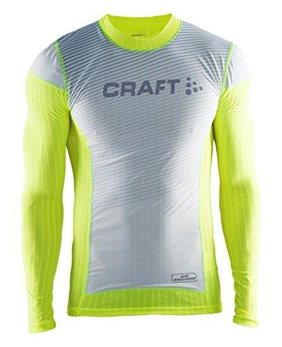 Craft Maglia intima uomo Active x2.0Brilliant ws CN LS M, Uomo, Unterwäsche Active X2.0 Brilliant WS CN LS M, Flumino, XL