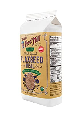 Bob's Red Mill Whole Ground Flaxseed Meal Organic -- 16 oz from Bob's Red Mill