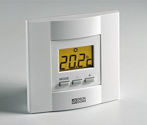 BodenW/ärme Trame chauffante /électrique pour plancher avec doubles c/âbles et thermostat digital Taille /à choisir 150 w//m/²