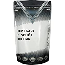 Syglabs Nutrition Omega 3, 1000 mg, 1000 Kapseln, 1er Pack (1 x 1.37 kg)