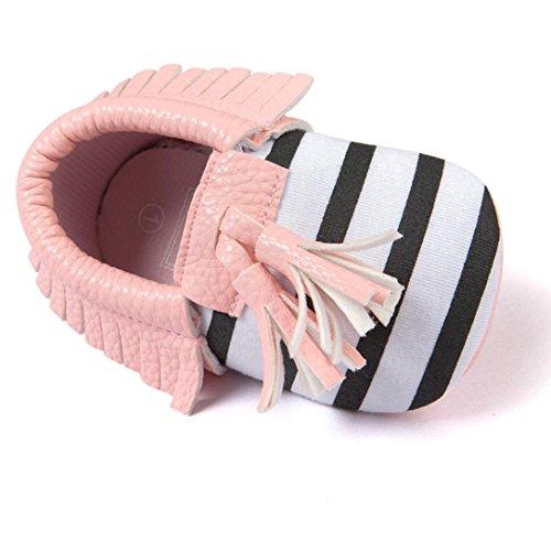 winwintom Baby Quasten Schleife Sneakers Casual Schuhe rose