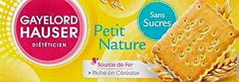Gayelord Hauser Diététicien Petit Nature sans sucres 156 g - Lot de 6
