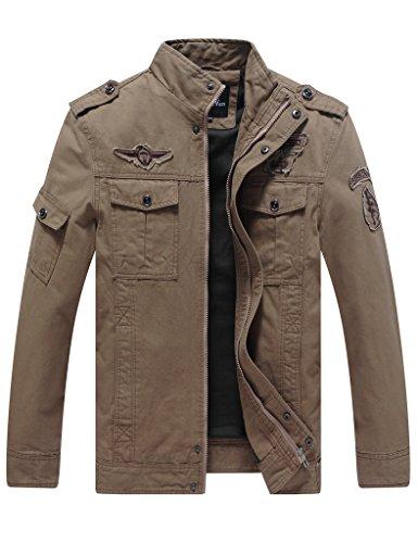 wenven-mens-fashion-cotton-jackets-khaki-size-m