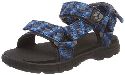 Jack Wolfskin Jungen Seven Seas 2 Sandal B Sport, Blau (Glacier Blue), 38 EU