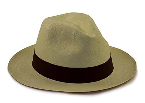 Tumi Panama Hats Tumi Fino echter faltbarer/rollbarer Panamahut. Aus natürlichen Faser handgewebt. Fair gehandelt und handgemacht in Ecuador. Ausgezeichnet und bequem in Sonne und Sommer.