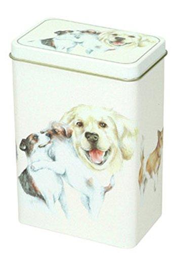 Dose Hunde Dogs Teedose Welpen