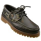 Dockers by Gerli Damen Mokassins Bootsschuhe - Schwarz, Cafe oder REH, Schuhgröße:EUR 41, Farbe:Brauntöne