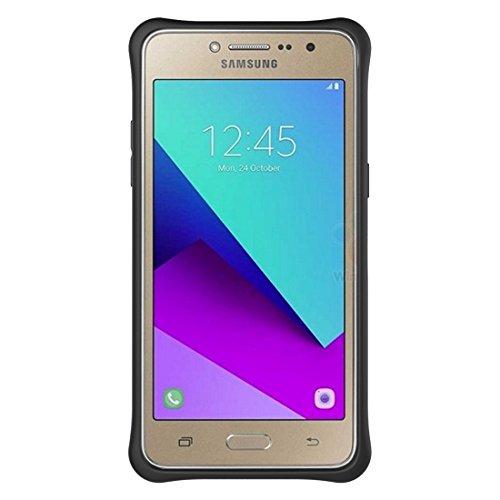 Samsung Galaxy J2 Prime Case Schock-resistent 360 Grad Spin Tough Rüstung TPU + PC Kombi-Fall mit Halter für Samsung Galaxy J2 Prime Fall by diebelleu ( Color : Black ) Gold
