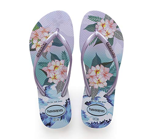 Havaianas Tropical Sunset, Infradito Donna, Multicolore (Lavander 0994), 39/40 EU
