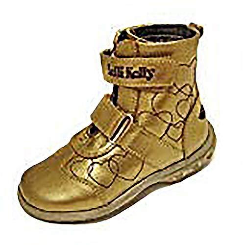 Lelli Kelly - Zapatos de Cuero para niños, Color Dorado, Talla 24
