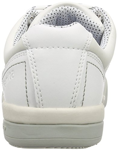 SanitaSan-Chef Lace Shoe-O2 - Scarpe Antinfortunistiche Unisex – Adulto Bianco (Weiß (White 1))