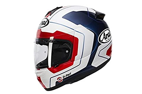 Arai Axces III 3 Sports Full Face Motorcycle Motorbike Helmet Line Blue Medium