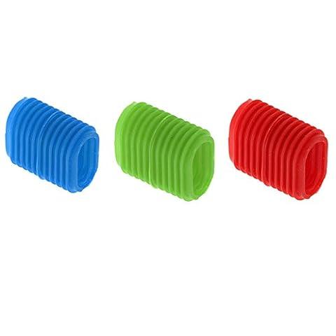 Sharplace 3Pcs Accessoires de Pêche Reel Grip Non-Slip Ergonomic Fishing