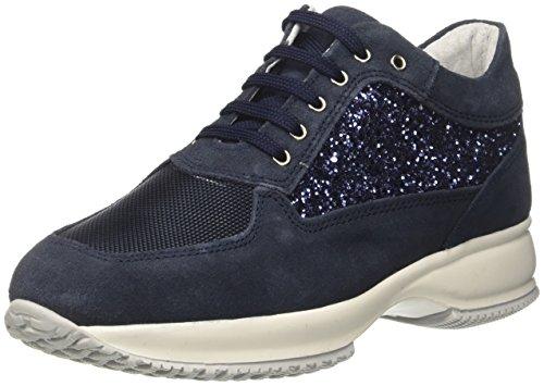 BATA 5239583, Sneaker a Collo Alto Donna Blu