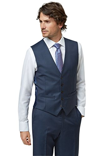 lanificio-flli-cerruti-dal-1881-cloth-mens-tailored-fit-indigo-waistcoat-42r-blue