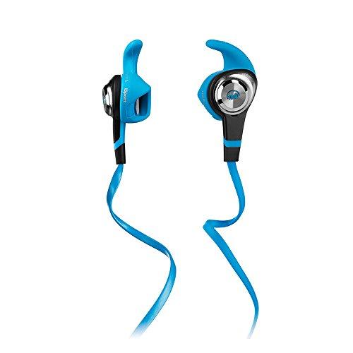 Monster iSport - Casque Sport Audio - Strive In-Ear Headphones - Isolation modérée des bruits extérieurs - Couleur Bleue