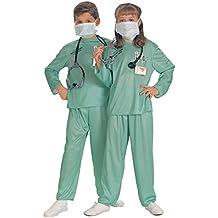 Disfraz de médico doctor para niño, Talla M infantil 5-7 años (Rubies