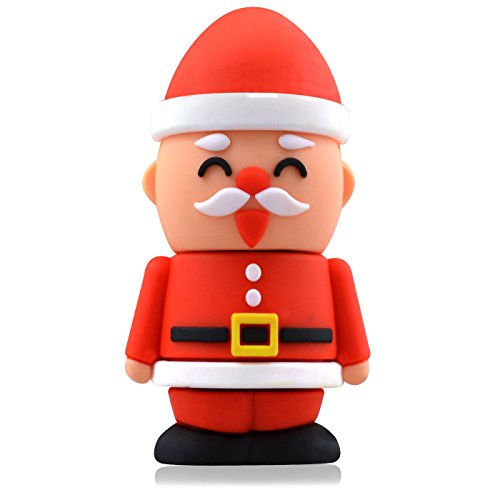 818-Shop No4400030008 USB-Sticks (8 GB) Nikolaus Weihnachten Nussknacker rot