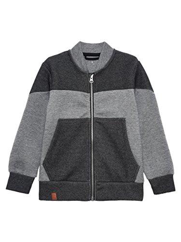 NAME IT - Felpa - ragazzo grigio 116 cm