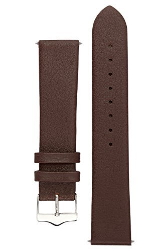 signature-easy-in-brown-20-mm-extra-long-watch-band-replacement-watch-strap-genuine-leather-silver-b