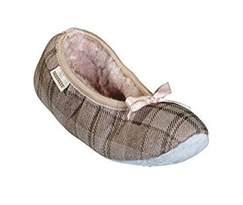 Shepherd, Pantofole donna Rosa (Pink Check)