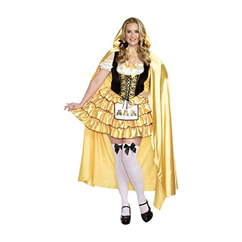 Dreamgirl 9895X Goldilocks Kostüm (1x/2x große)