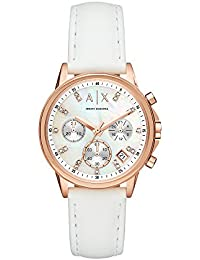 Armani Exchange Analog Mother of Pearl Dial Women's Watch - AX4364